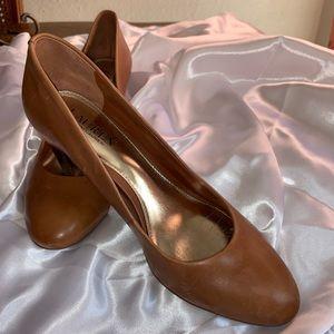 Brown Ralph Lauren Heels